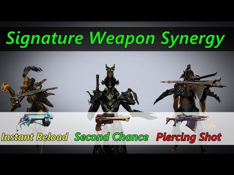 Discussing New Signature Weapon Buffs! (Weapon+Warframe Synergy) thumbnail