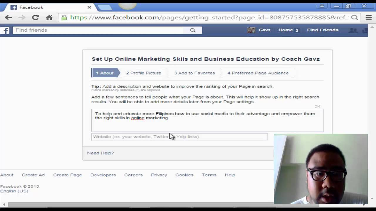 How To Create Your Own Website Using Facebook Webpage