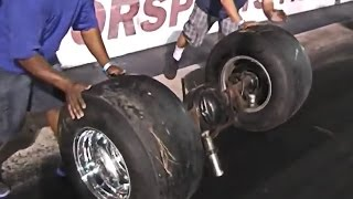 Wild & Crazy Drag Racing Crash Video