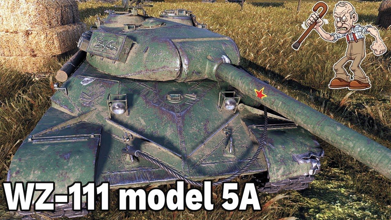 ZŁA DECYZJA? – WZ-111 model 5A – World of Tanks