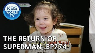 The Return of Superman | 슈퍼맨이 돌아왔다 - Ep.274: My Heart is Filled With You [ENG/IND/2019.04.28]