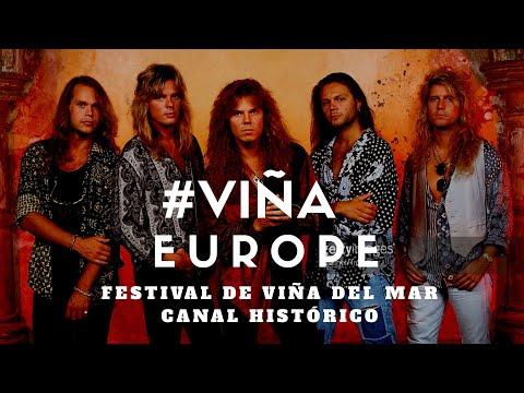 Europe en vivo, The final countdown Festival de Viña del Mar 1990