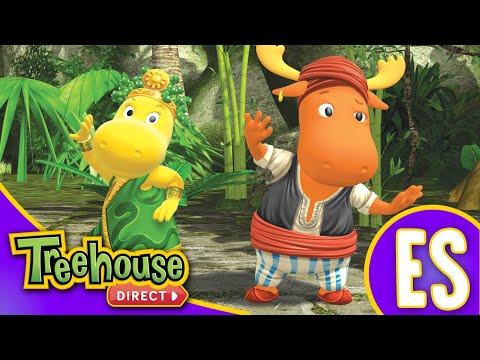 Los Backyardigans Dibujos Animados: 33-35 Episodios Para Niños - Compilación De 70 Mins
