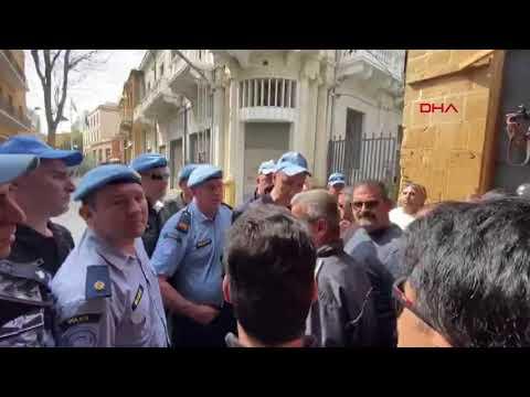 KKTC polisi ile BM askerleri arasında 'sınır kapısı' gerginliği