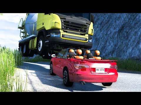 REALISTIC HIGH SPEED CRASHES #8 - BeamNG Drive | CRASHdriven