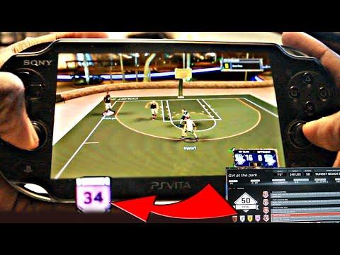 NBA 2K17 DEMIGOD ON PSVITA - PS VITA MYPARK 99 DEMIGOD GAMEPLAY !!!