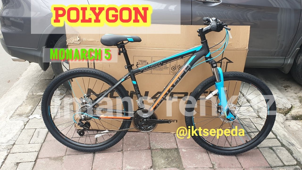 MTB POLYGON Monarch 5 Terbaru 2019 YouTube