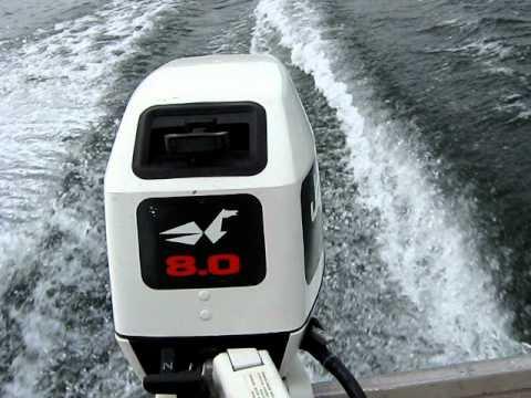 1992 johnson 8hp and 1939 johnson 1hp outboard motors