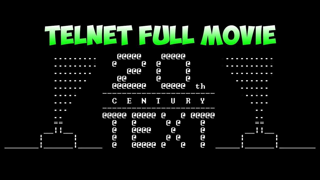Telnet towel.blinkenlights.nl Full Movie - YouTube