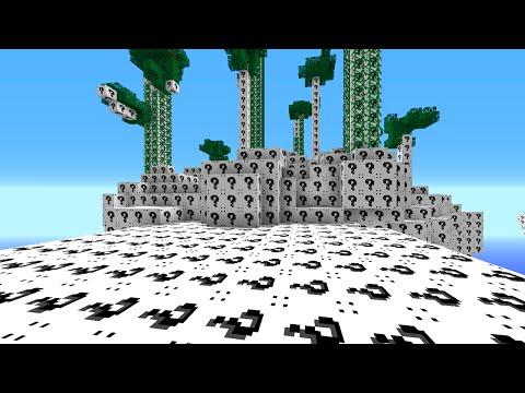 Minecraft 1v1v1v1 WHITE LUCKY BLOCK BRIDGES! (Minecraft Mods)