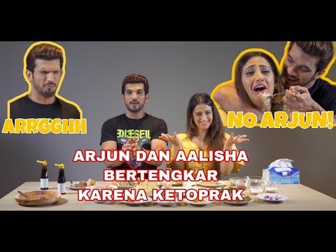 FOOD CHALLENGE | Bintang Ishq Mein Marjawan Berdebat Saat Membuat Ketoprak!