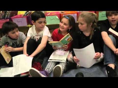 Reading at Plum Cove School