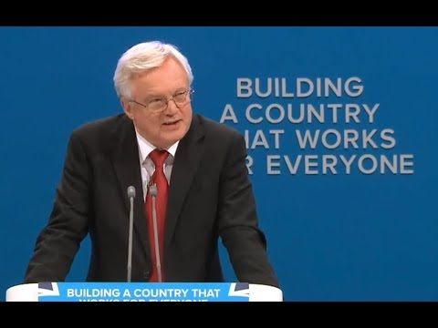 David Davis Addresses the Conservative Party Conference 2017