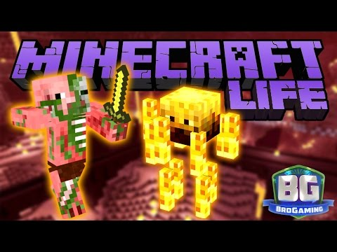 Nether Fortress - The Minecraft Life - Bro Gaming