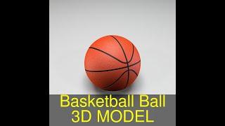 3D Model of Basketball Ball Review