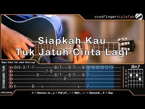HIVI! - Siapkah Kau Tuk Jatuh Cinta Lagi - Fingerstyle Guitar Cover (TAB Tutorial)