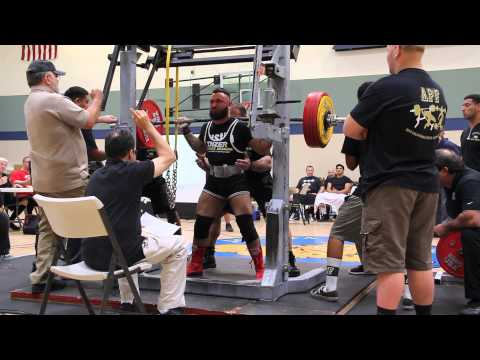 Roy Glenn 2 Squat