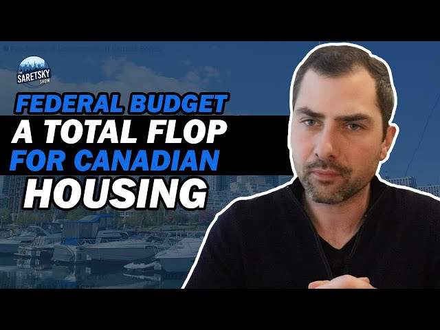 Federal Budget A Total Flop For Canadian Housing