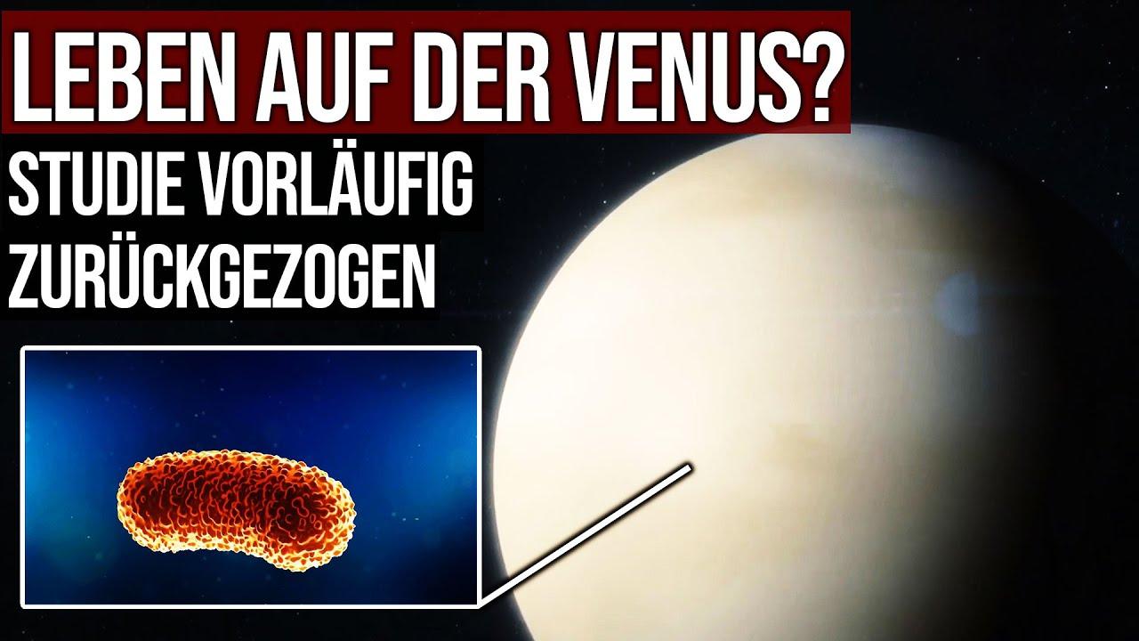 Leben auf der Venus? - Studie vorläufig zurückgezogen