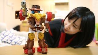 手裏剣戦隊ニンニンジャーのDXバイソンキングです。 鈴川絢子:主に鉄道...
