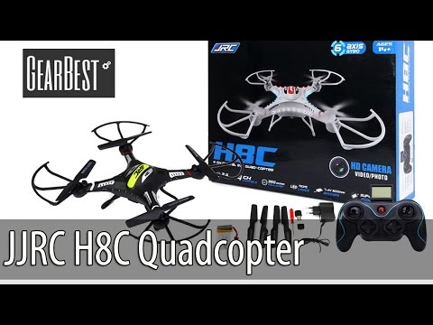 JJRC H8C Camera Quadcopter (with English subtitles and coupon)