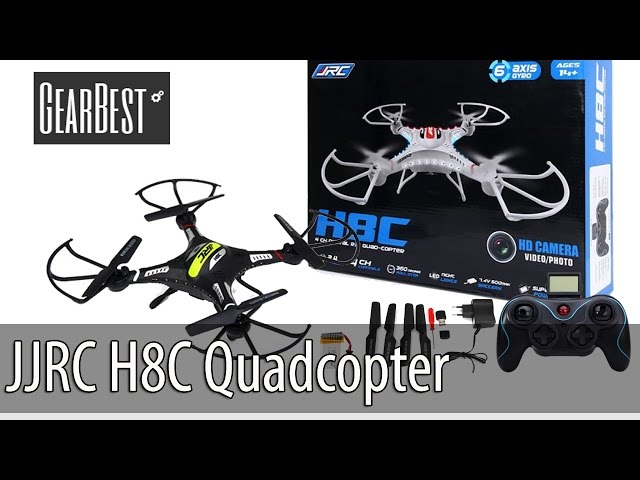 H8C-6 Spare Magnatic CCW Motor H Fitting JJRC H8C R//C Quadcopter Drone HELI 36