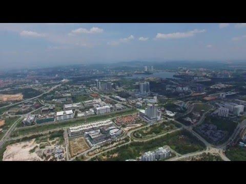 DJI Phantom 3 - Cyberjaya from 500m (1640ft) Above, Malaysia [HD]