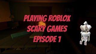 Jogando Roblox jogos assustadores # 1