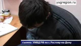 В Ростове преступника «обезвредили» стеклянные двери(, 2012-01-18T12:17:22.000Z)