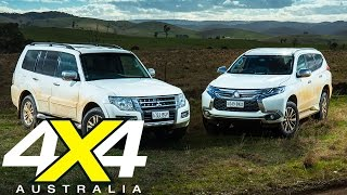 Mitsubishi Pajero vs Pajero Sport | Road test | 4X4 Australia
