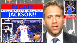 Reggie Jackson(Los Angeles Clippers) Loading Up For The Playoffs! First Take Stephen/Max[Commentary]