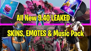 *NEW* Fortnite: All New 9.40 LEAKED SKINS, EMOTES & Music Pack!!!