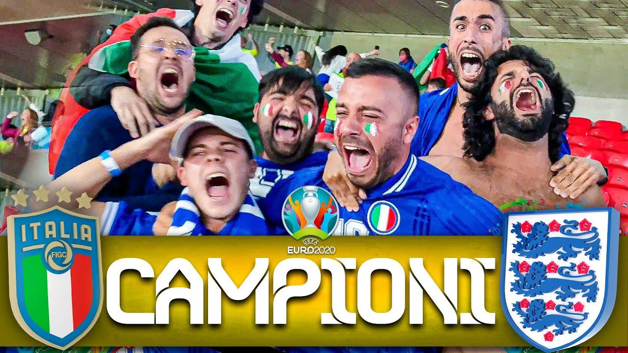🏆 CAMPIONI!!! 🇮🇹 ITALIA 4-3 INGHILTERRA 🏴 (d.c.r.) | LIVE REACTION WEMBLEY HD