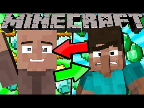 Thumbnail: If Villagers and Players Switched Places - Minecraft