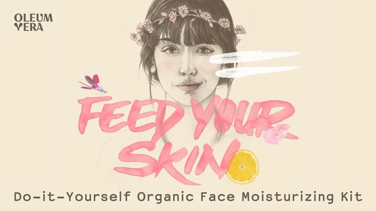 Do it yourself organic face moisturizing kit youtube solutioingenieria Gallery