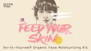 Do-it-Yourself Organic Face Moisturizing kit
