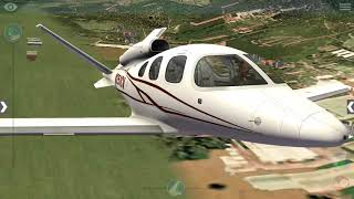 X-Plane 10 | How to start, takeoff and land the CIRRUSJET SF50