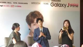 Park Bo Gum - 2017 Asia Tour Fan Meeting in Jakarta - Press Conference 12 Januari 2017 - Part 2