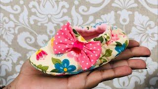 Pantufinha para Bebê para Iniciantes em Costuras