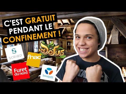 C'est GRATUIT Pendant Le CONFINEMENT !