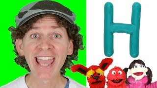 Letter H | Today's Letter Song with Matt and Friends | Preschool, Kindergarten, Learn English