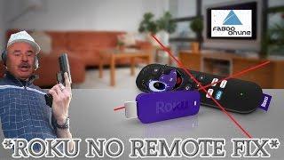 roku stick no remote fix