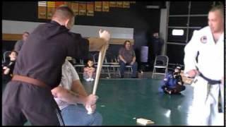 Karate Baseball Bat Break - Premier Martial Arts
