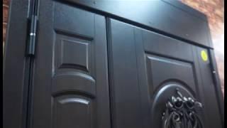Обзор металлической двери Сталлер Сицилия двухстворчатая