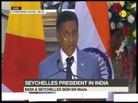Seychelles President in India: India & Seychelles release joint press statement