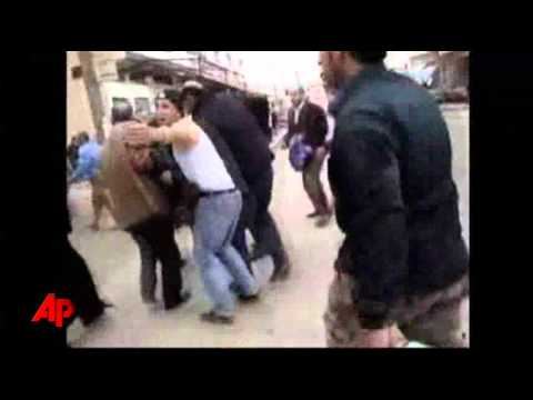 Raw Video: Amateur Video Shows Syria Violence