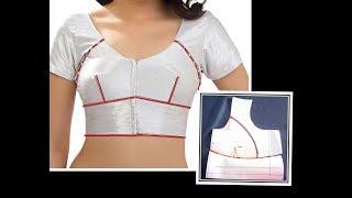 Perfect Single Katori Blouse Drafting ,Cutting and Stitching  with Useful Tips | DIY