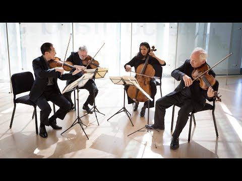 Juilliard String Quartet Performs Beethoven, Davidovsky, and Bartók