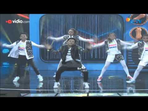 Brandon De Angelo dan City Hunter Kidz, Bandung - 10 Besar The Dance Icon 2