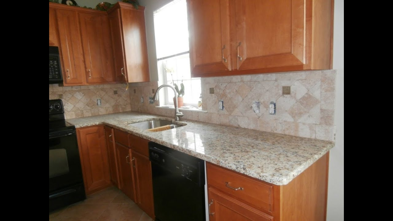 Granite Countertops Colors Kitchen Giallo Napoli Granite Countertops Installed In Charlotte Nc 5 10